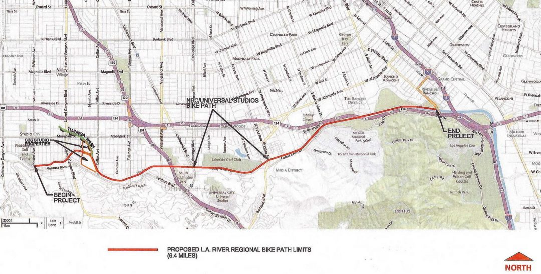 Los Angeles River Regional Bike Bath