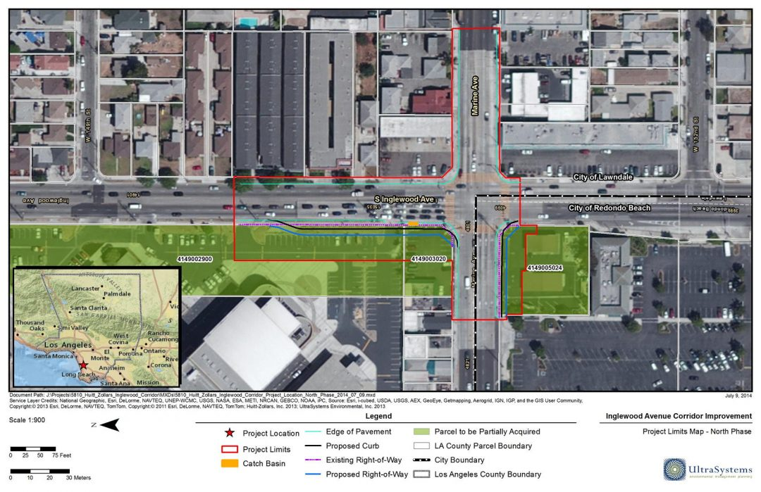 Inglewood Avenue Corridor Widening