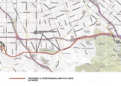 Los Angeles River Regional Bike Bath